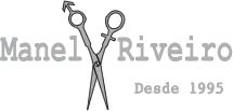 Manel Riveiro Peluquero Logo